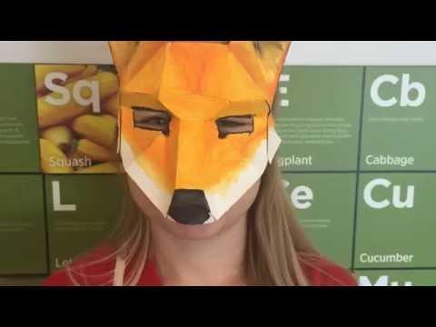 Making a Low-Poly Papercraft Mask