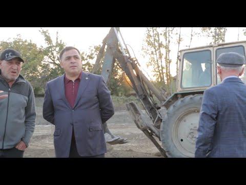 В Магарамкентском районе строится школа в с. Оружба. 2019г.