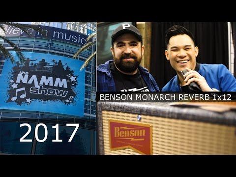 Winter NAMM 2017: Benson Monarch Reverb Combo 1x12 Amplifier
