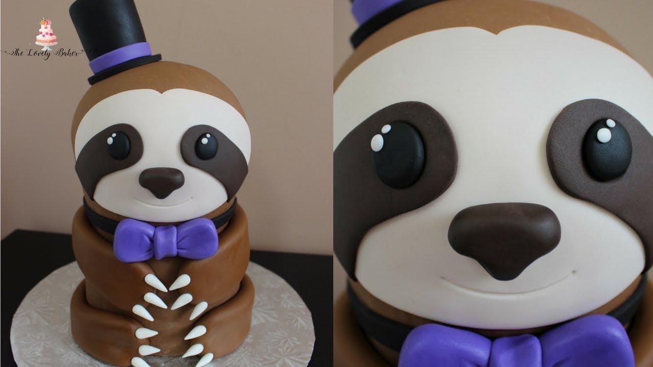 Sloth Cake Tutorial!