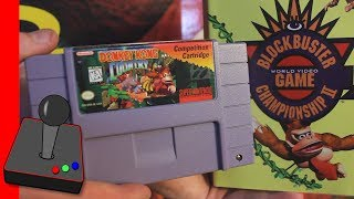 ULTRA RARE! Donkey Kong Country Competition Cart - H4G