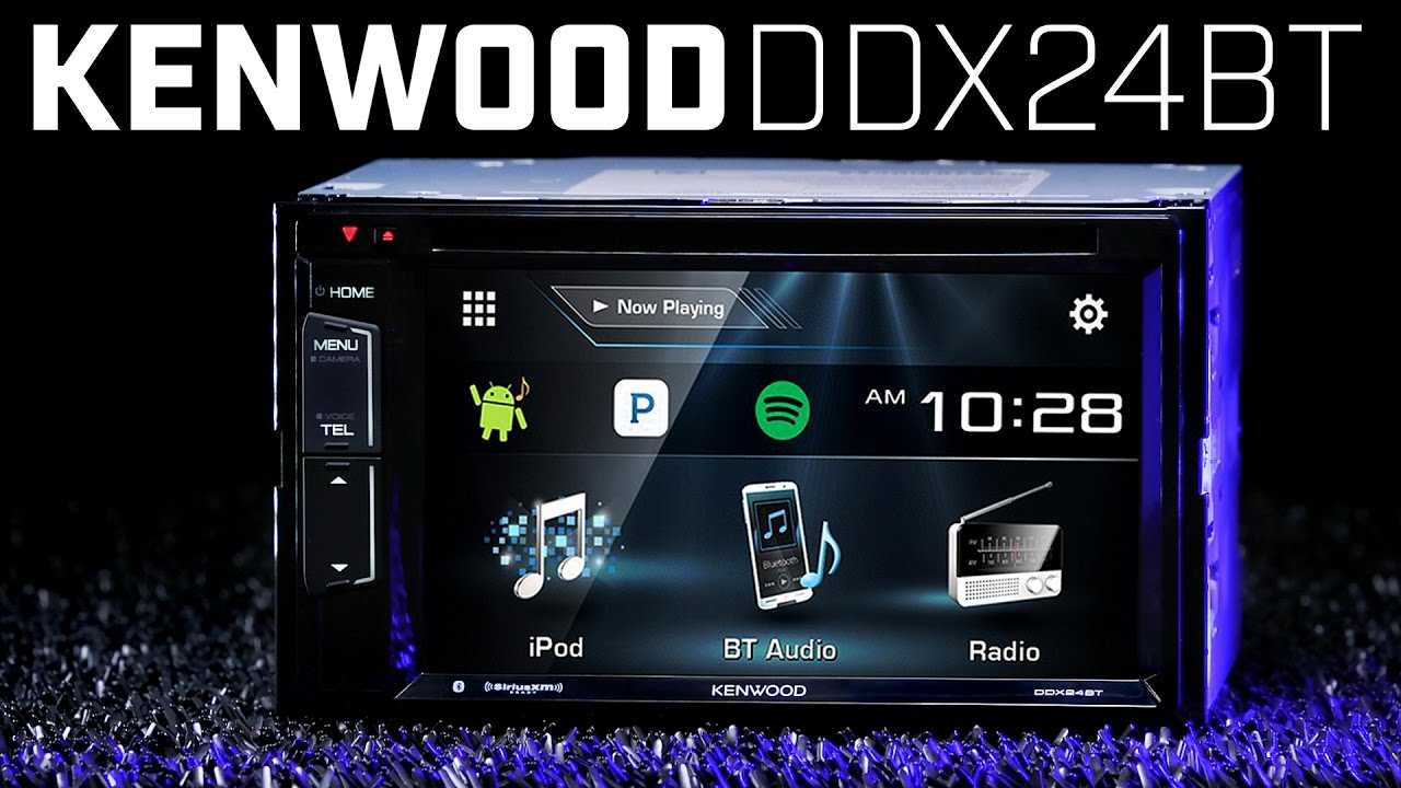 kenwood ddx24bt double din bluetooth stereo [ 1280 x 720 Pixel ]