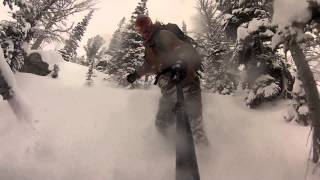 Christmas Day 2014 Why Not Jackson Hole Sidecountry Thumbnail