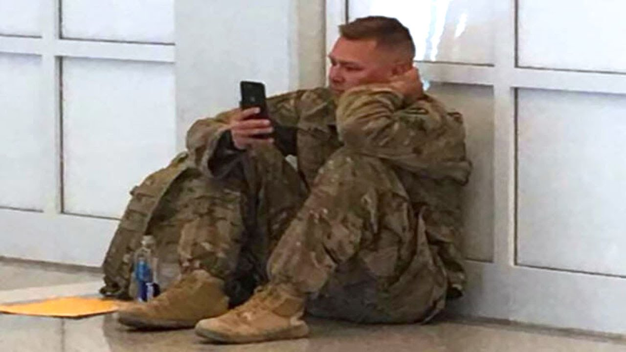 "Airport Staff Spot A Crying Soldier, Then They Hear ""Don't Let Him Board The Flight!"""