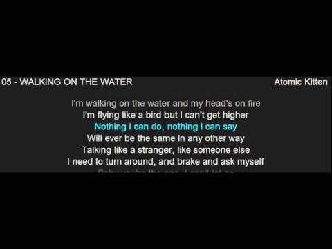ฝึกฟังภาษาอังกฤษจากเพลงสากล WALKING ON THE WATER