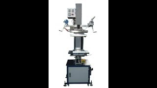 Fa-tj69 Hot Stamping Machine For Crate  / Storage Box/ Garbage Can