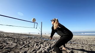 GoPro Awards: Volleyball Practice with Kelly Reeves