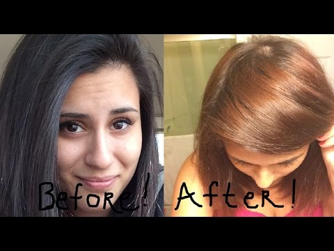 COLOR OOPS - HOW I STRIPPED MY HAIR AT HOME IN ONE DAY no ...