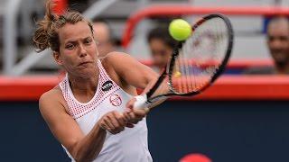 2016 Coupe Rogers First Round | Barbora Strycova vs Caroline Garcia | WTA Highlights