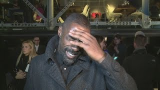 Idris Elba shuts down question about single life!