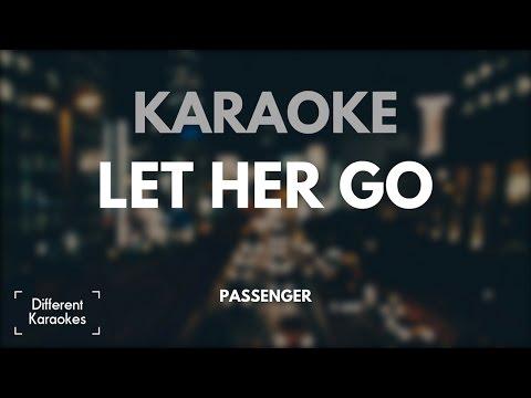 Let her go - Passenger (Karaoke/Instrumental) HD