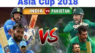 Asia Cup 2018, India vs Pakistan, 5th Match, Group A|sham sports tv