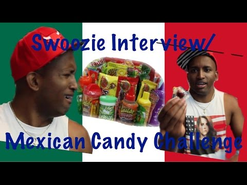Swoozie Interview/Mexican Candy Challenge at Vidcon 2015