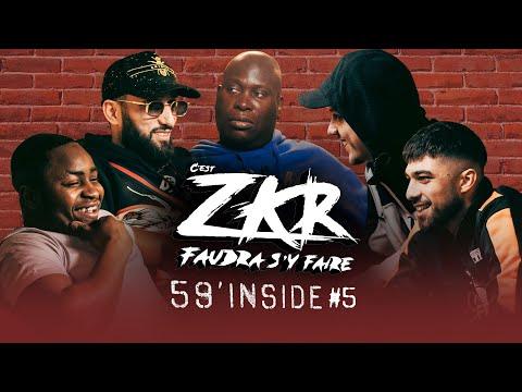 Youtube: 59′ Inside Zkr #5 (avec PLK, Landy et Niro)
