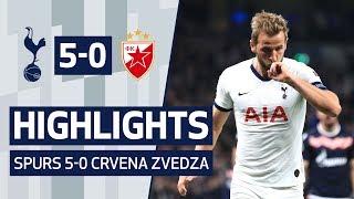 HIGHLIGHTS | SPURS 5-0 CRVENA ZVEDZA