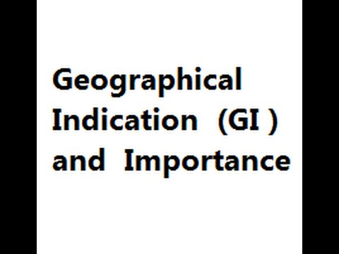 What is Geographical Indication ? why it is Important ?