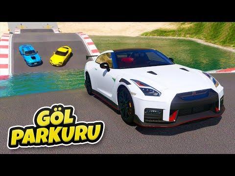 2020 Model Arabalar Göl Parkurundan Geçiyor - GTA 5