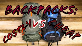 Backpacks: Costly vs Cheap