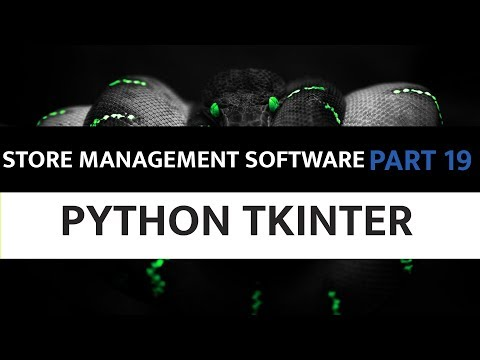 Store Management Software Using Python Tkinter - 19. Finalizing Part 2 bill printing