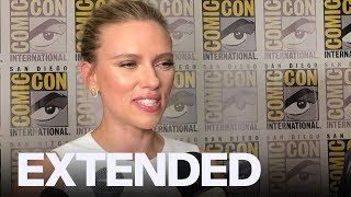 Scarlett Johansson Shares Excitement For 'Black Widow' | EXTENDED