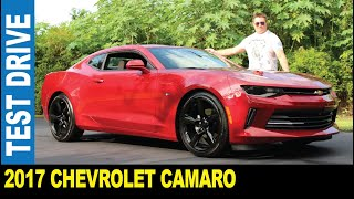 2017 Chevrolet Camaro RS dual outlets exhaust black rims driven by Jarek Safety Harbor Florida USA