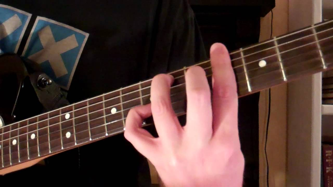 How To Play The Gm7 Chord On Guitar G Sharp Minor 7 Youtube