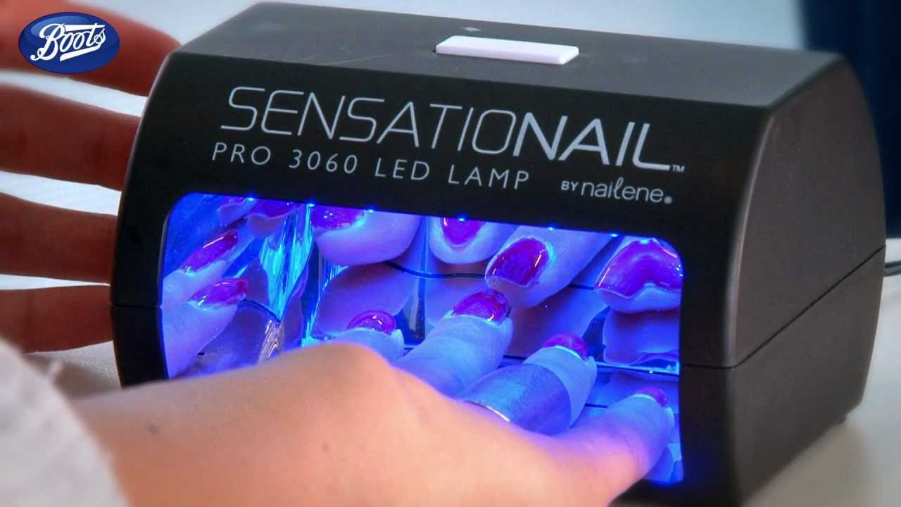 How to use Sensationail manicure kit - YouTube