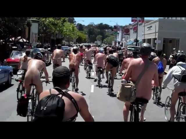World Naked Bike Ride 2012 San Francisco.mp4