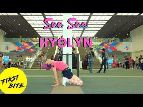 [Public Dance Challenge] HYOLYN(효린) - SEE SEA(바다보러갈래) Dance Cover at KCON LA
