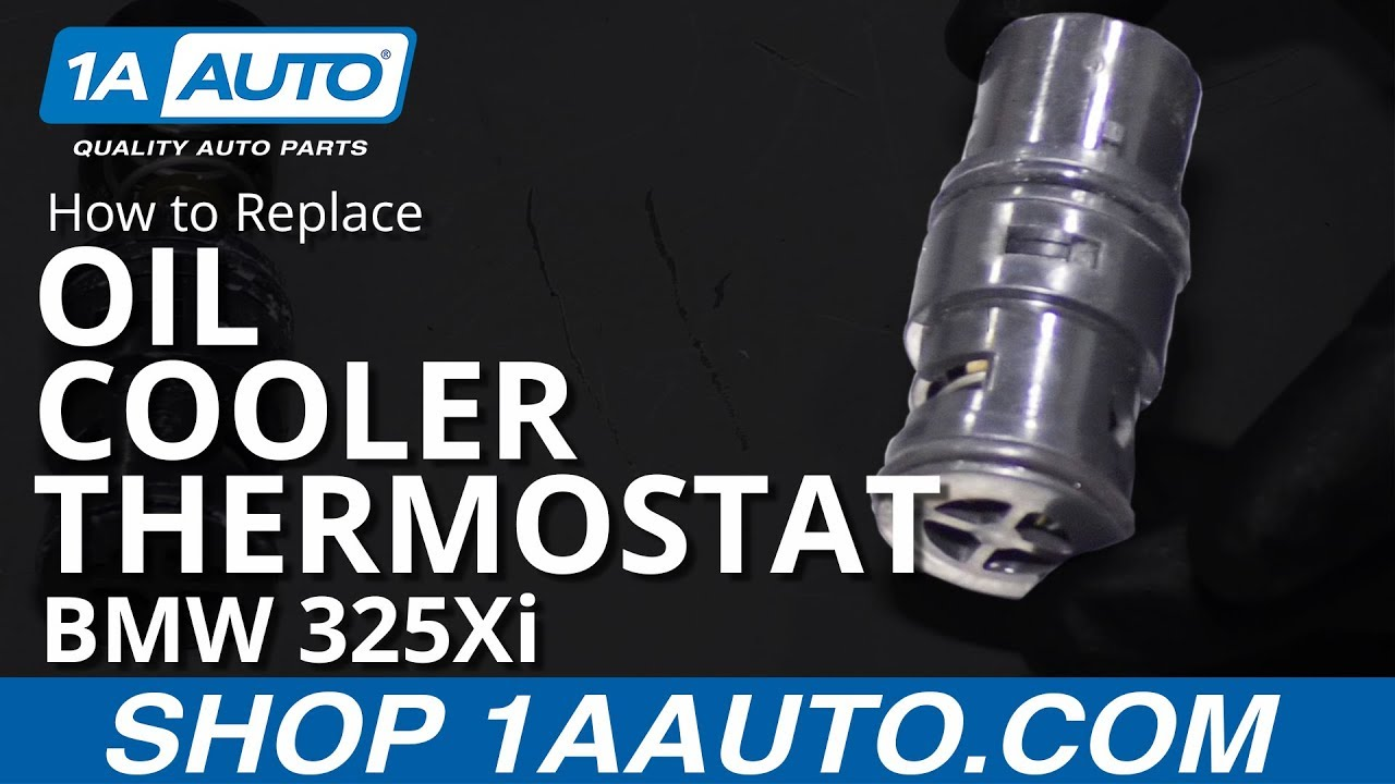 Oil Cooler Thermostat For BMW 323i 325i 328i 330i Radiator Tank Mounting Plate