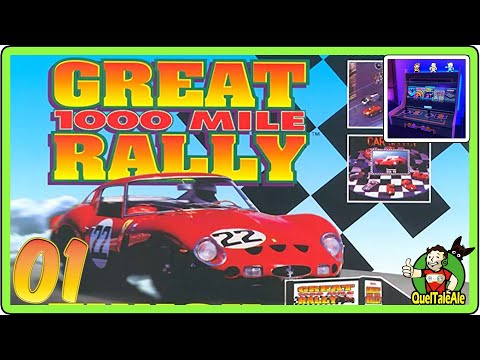 1000 Miglia: Great 1000 Miles Rally - Gameplay ITA [Serata Arcade] - #01