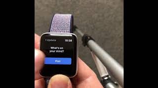 Facebook for Your Apple Watch (Giveaway)