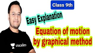 Class 9th equation of motion by graphical method
