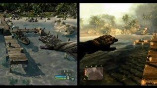 Crysis vs Crysis Warhead Comparison [HD]