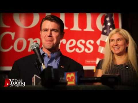 Todd Young: Election Night in Bloomington