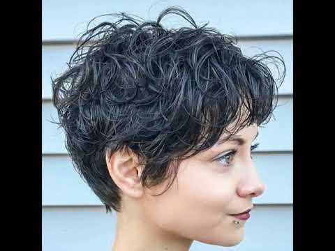 Short Shag Hairstyles for Women - 2017 - YouTube