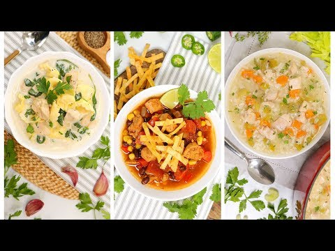 chicken-soup---3-delicious-ways-|-fall-recipes-|-quick-easy
