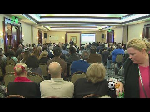 Dozens Attend Public Meeting On Porter Ranch Methane Gas Leak