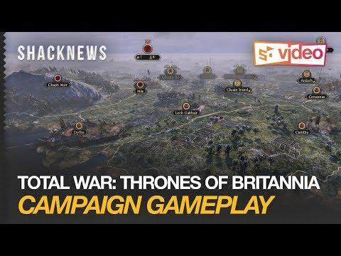 Total War: Thrones of Britannia Campaign Gameplay