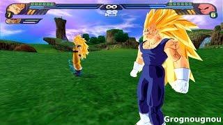 Majin Gogeta SSJ3 VS Kid Buu (Dragon Ball Z Budokai Tenkaichi 3 Fusion mod)