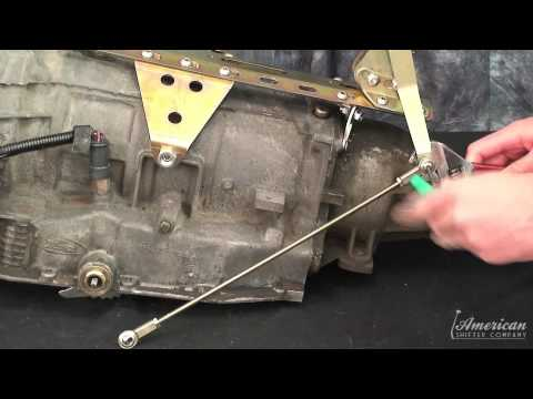 Ford AOD Dual-Action Shifter Installation Video from American Shifter Co.