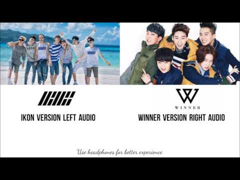 WINNER & IKON - Just And Another Boy Comparison( Dual Audio)