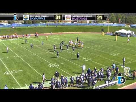 Fort Lewis College Skyhawks vs Western New Mexico University Mustangs (9-25-13)