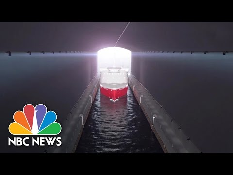 Norway To Build World's First Ship Tunnel   NBC News
