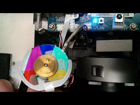 Acer Projector Color Wheel Colour Wheel Working