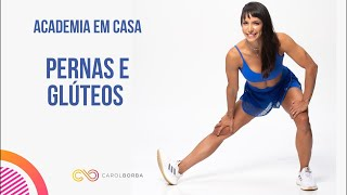 🔴Treino AO VIVO - Para endurecer pernas e glúteos - Carol Borba