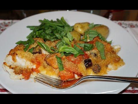 Mediterranean Fish Fillet Recipe