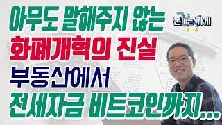 아무도 말하지않는 화폐개혁의 진실! 부동산, 비트코인에서 전세자금까지 화폐개혁 종결판!