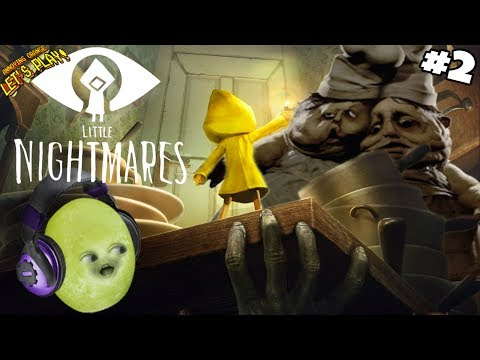Gaming Grape Plays - Little Nightmares #2: CREEPY CHEFS!