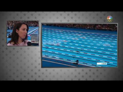 Olympic Swimming Trials | Janet Evans Praises Katie Ledecky